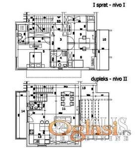 PRODAJA, 4.0 SOBNOG STANA 117M2, SREMSKA KAMENICA, NOVI SAD